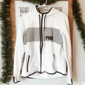 PINK Reflective Zip Jacket